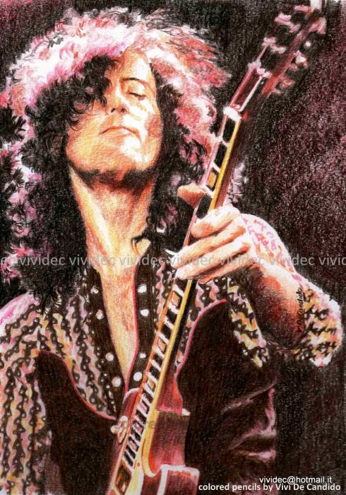 Jimmy Page by vividec